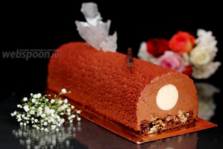 Торт шоколадно-муссовый