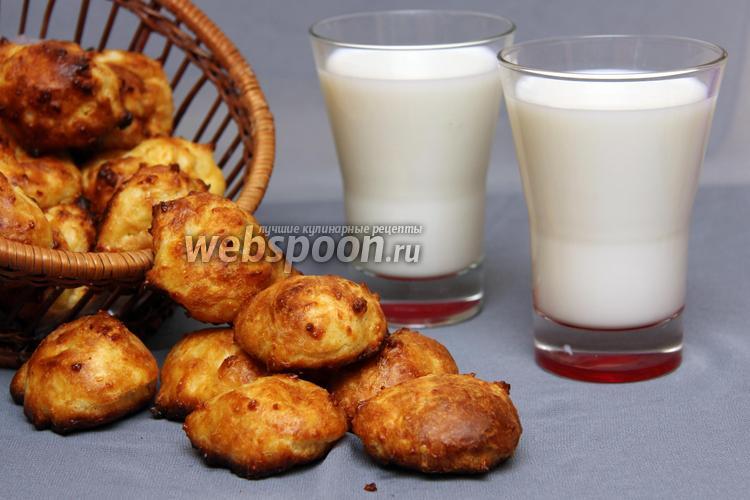 Фото Заварные сырные булочки