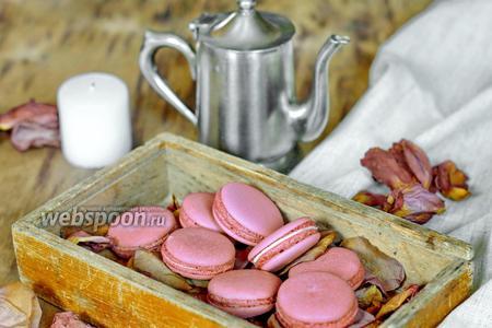 Macarons на швейцарской меренге