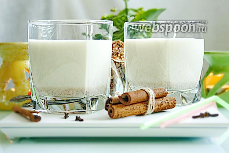 Фото Молоко со специями
