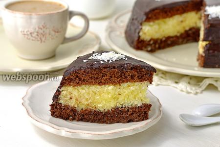 Торт «Баунти» шоколадный