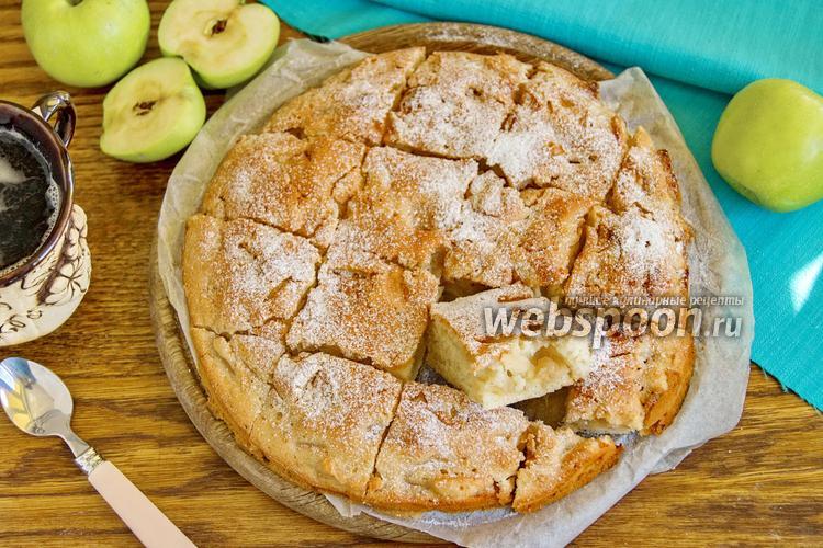 Фото Яблочный пирог без яиц