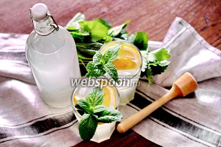 Фото Имбирный лимонад