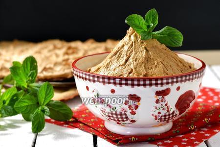 Крем с варёной сгущёнкой и маслом