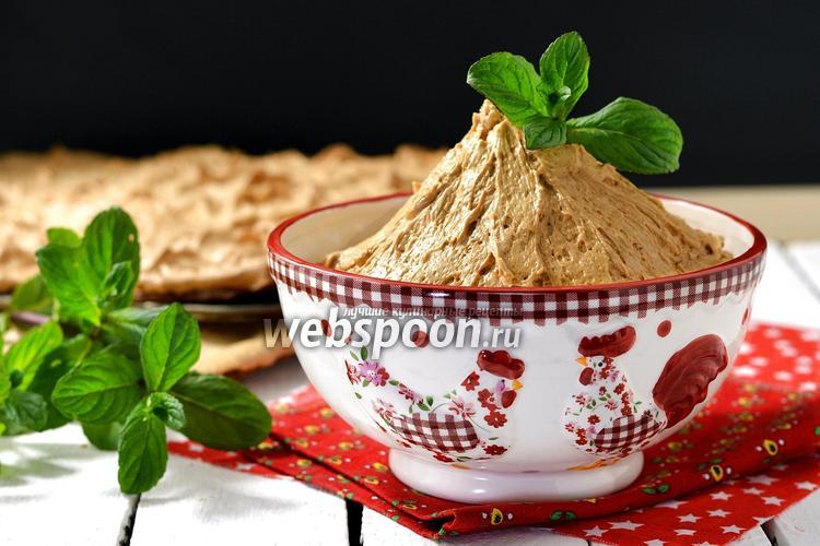 Фото Крем с варёной сгущёнкой и маслом