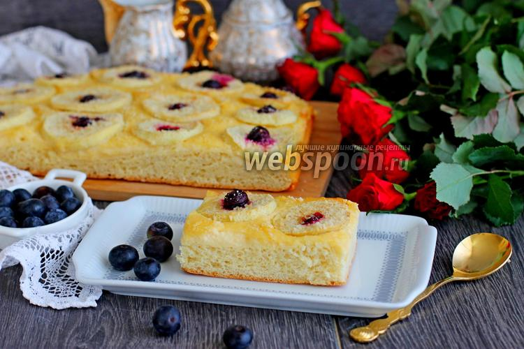 Фото Пирог с яблоками на дрожжевом тесте