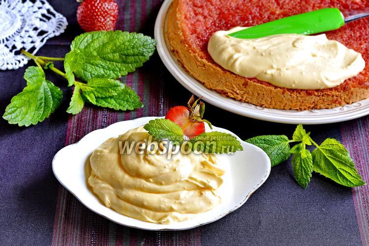 Фото Крем из сметаны и сгущёнки для торта