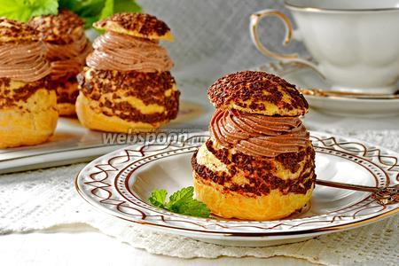 Пирожные Шу заварные