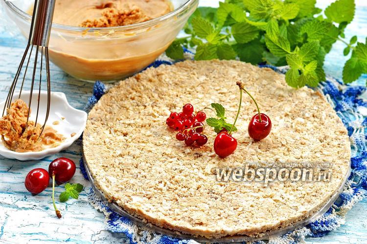 Фото Хрустящая прослойка для торта