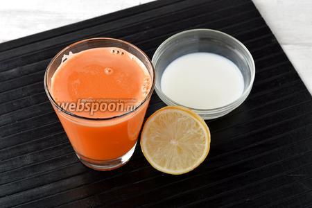 По желанию добавить сливки (1 ст. л.) или лимонный сок (1 ч. л.).