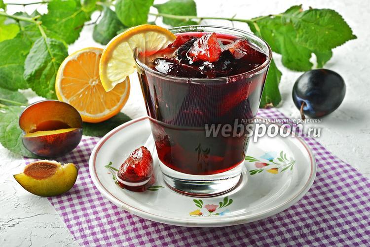 Фото Варенье из слив с лимоном