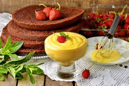 Крем «пломбир» для торта