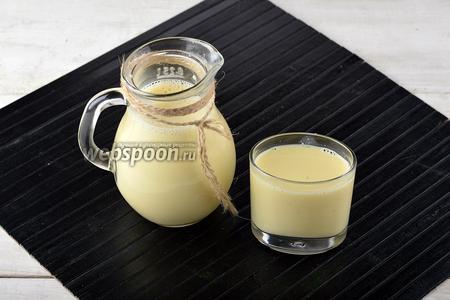Кукурузное молоко готово.