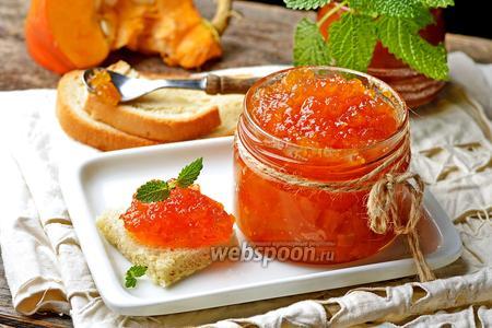 Варенье из тыквы и кабачков