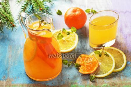 Лимонад из мандарин