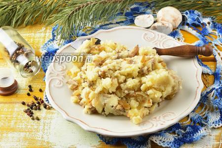 Начинка для пирожков с картошкой и грибами