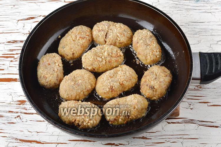 Котлеты с рисом и сайрой рецепт с пошагово