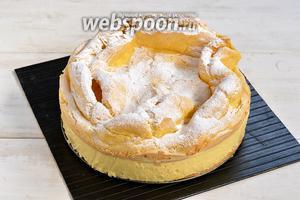 Пирог «Карпатка» готов.