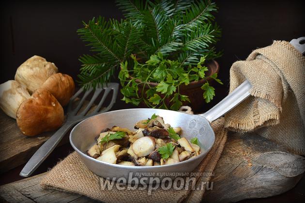 Фото Как жарить белые грибы