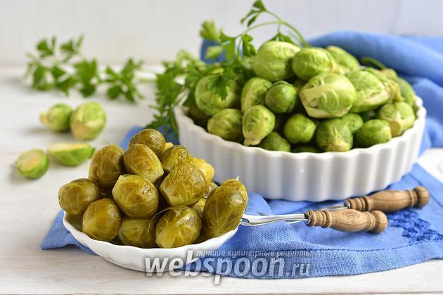 Фото Как варить брюссельскую капусту