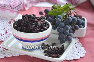 Фото совета Как сушить виноград