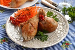 Фото совета Как жарить куриные голени