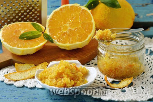 Фото Как заготовить апельсиновую цедру