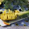 Как красиво нарезать ананас