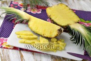 Фото совета Как почистить и нарезать ананас