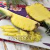 Как почистить и нарезать ананас
