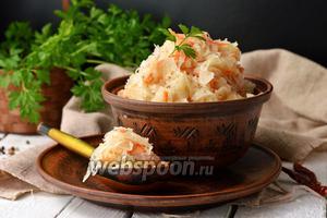 Фото совета Как варить квашеную капусту