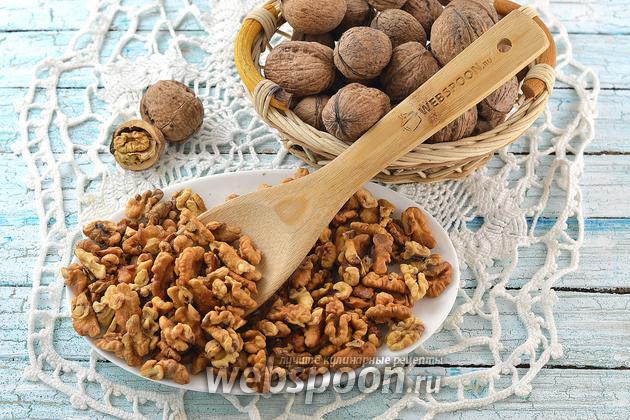 Фото Как жарить грецкие орехи