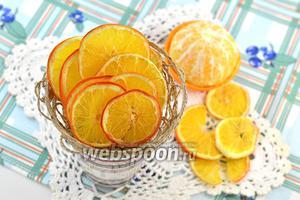 Фото совета Как сушить апельсин