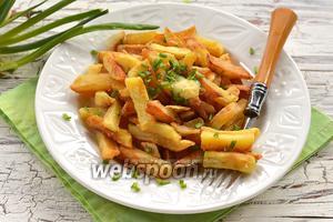 Фото совета Как жарить картошку