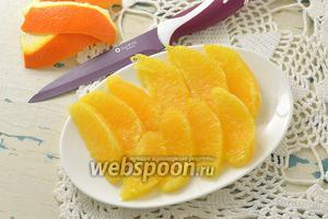 Фото совета Как филировать апельсин