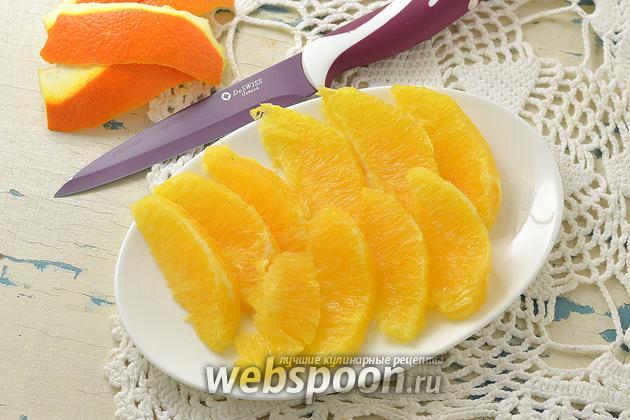 Фото Как филировать апельсин