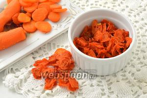 Фото совета Как сушить морковь