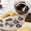 Фото совета Как сделать шоколадные узоры для украшения десертов