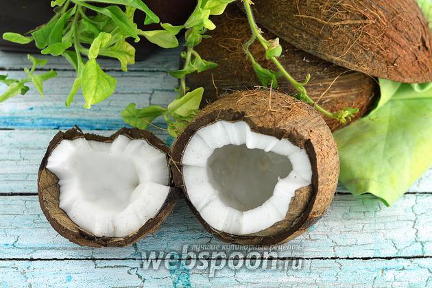 Фото Как расколоть кокос