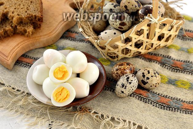Фото Как варить перепелиные яйца