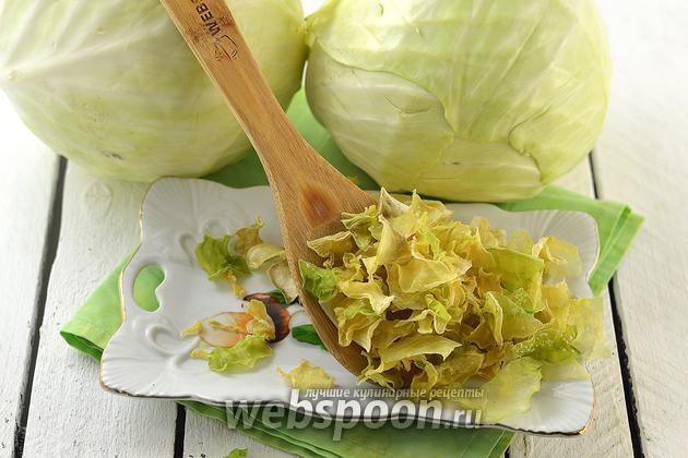 Фото Как сушить капусту