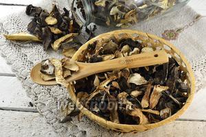 Фото совета Как варить сушёные грибы
