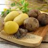 Фото совета Как быстро очистить картофель в мундире
