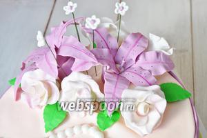 Фото совета Как сделать цветы из мастики