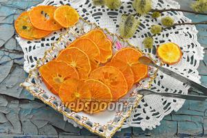 Фото совета Как сушить мандарины