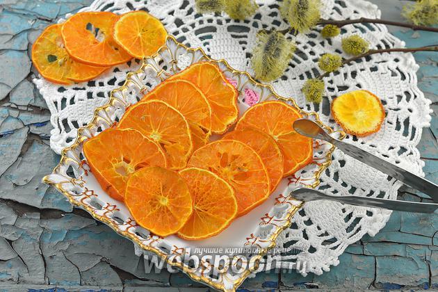 Фото Как сушить мандарины