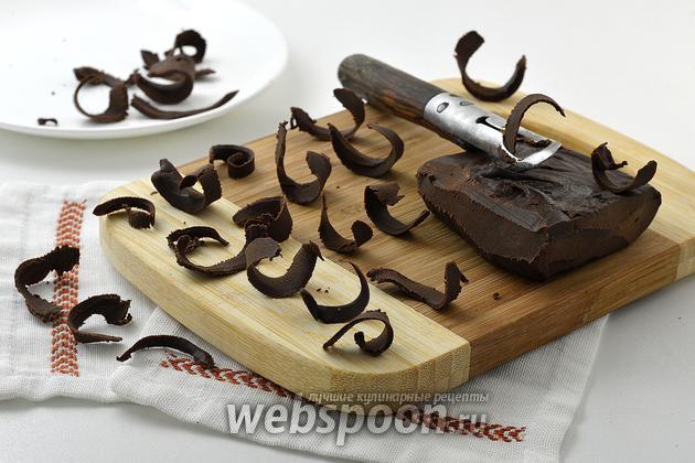 Фото Как сделать шоколадную стружку