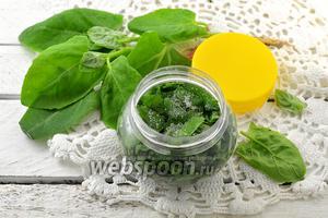 Фото совета Как солить шпинат