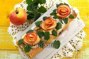 Фото совета Розы из яблок