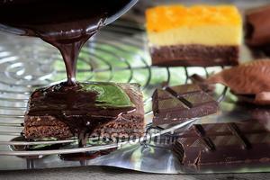 Фото совета Как глазировать торт